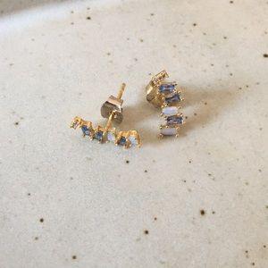 Anthropologie Climbers Earrings